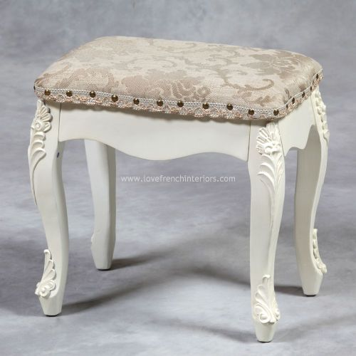 Stool in Cream